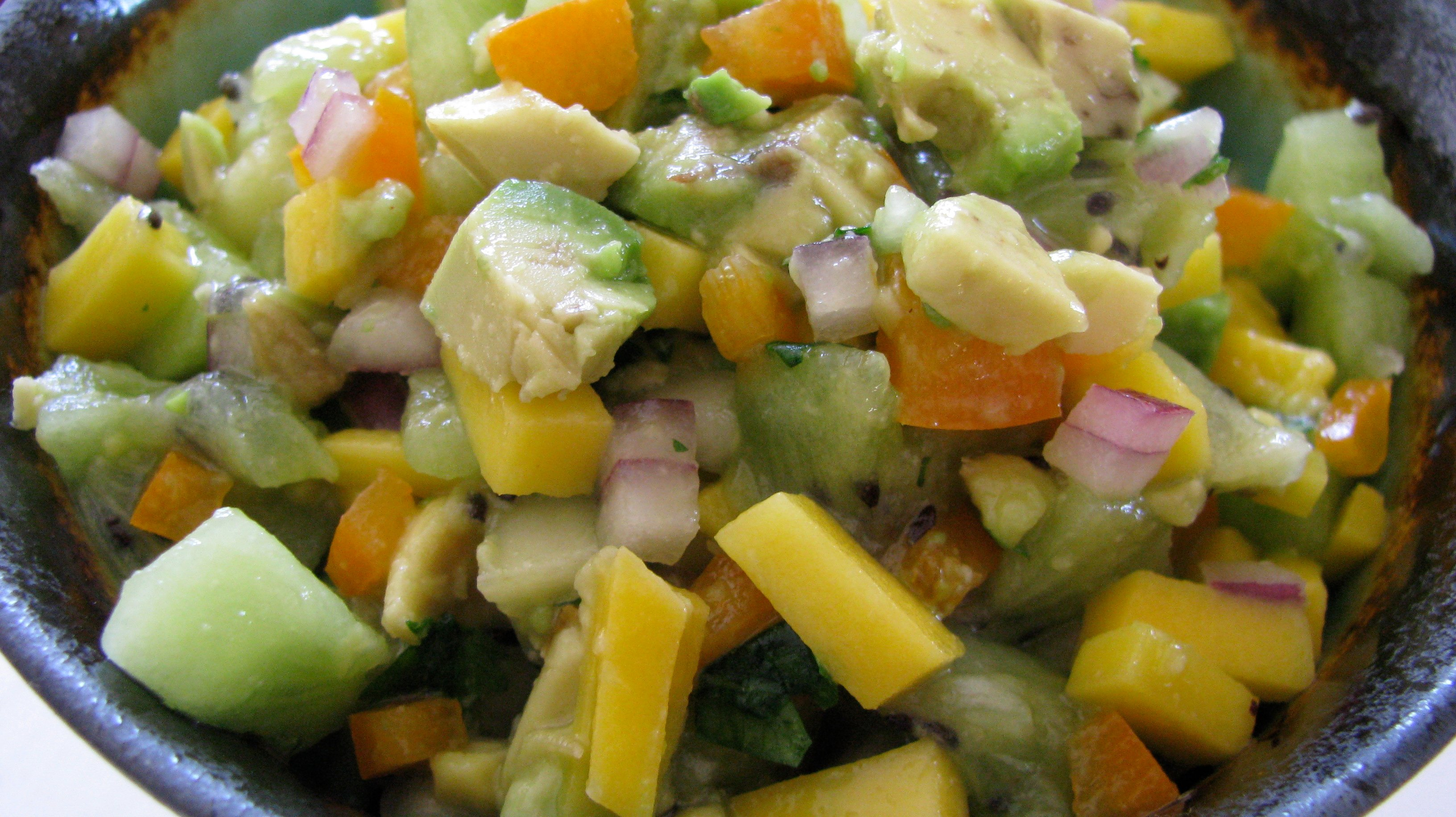 Kiwi Mango Salsa. | How Sweet It Is