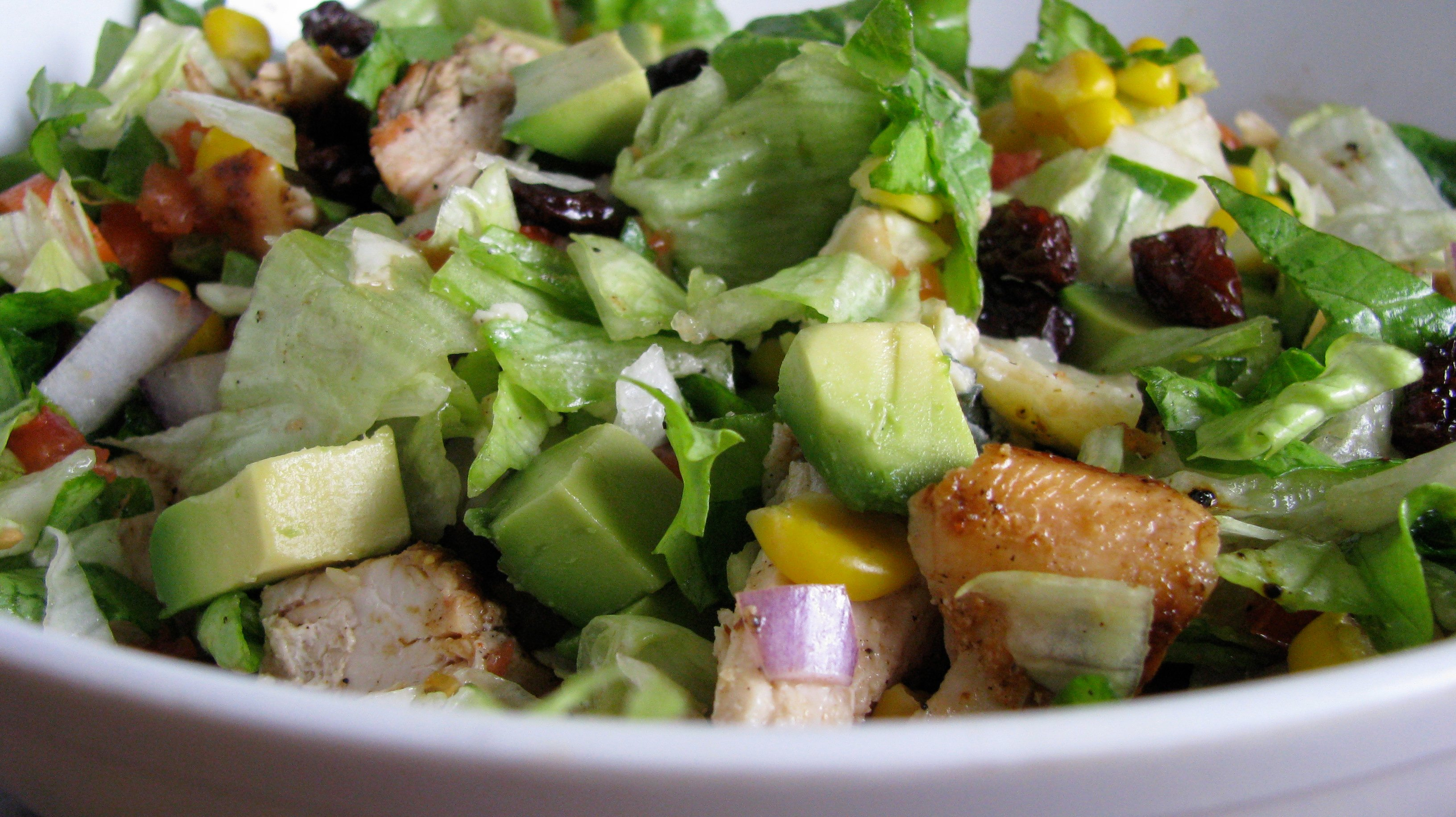 Chopped Chicken Salad. | How Sweet It Is