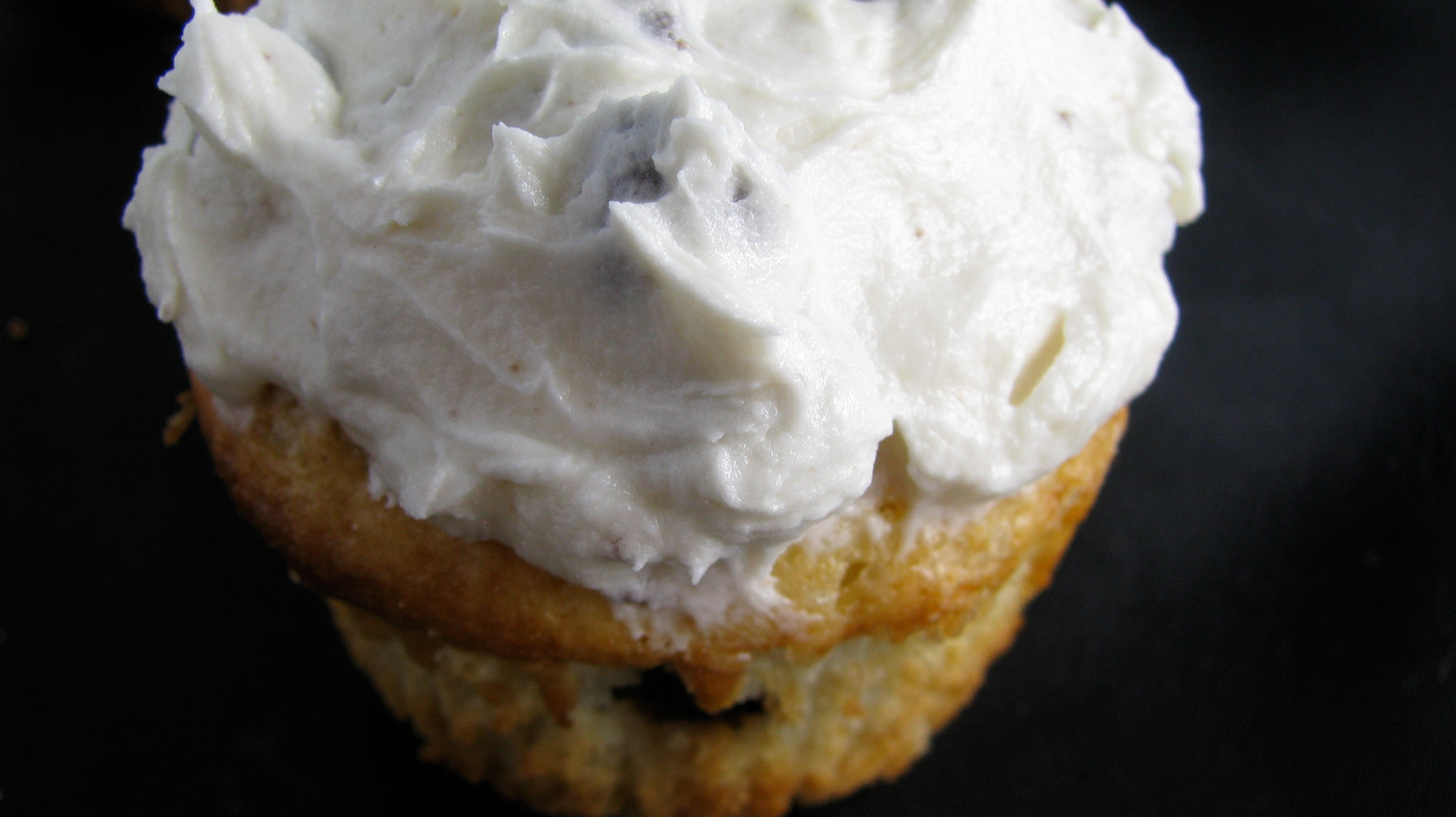 White Chocolate Cupcakes With Cookie Dough Frosting Recipes ...