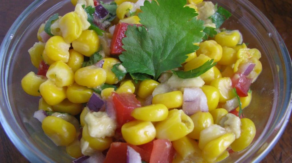 Sweet Corn and Avocado Salsa. | How Sweet It Is