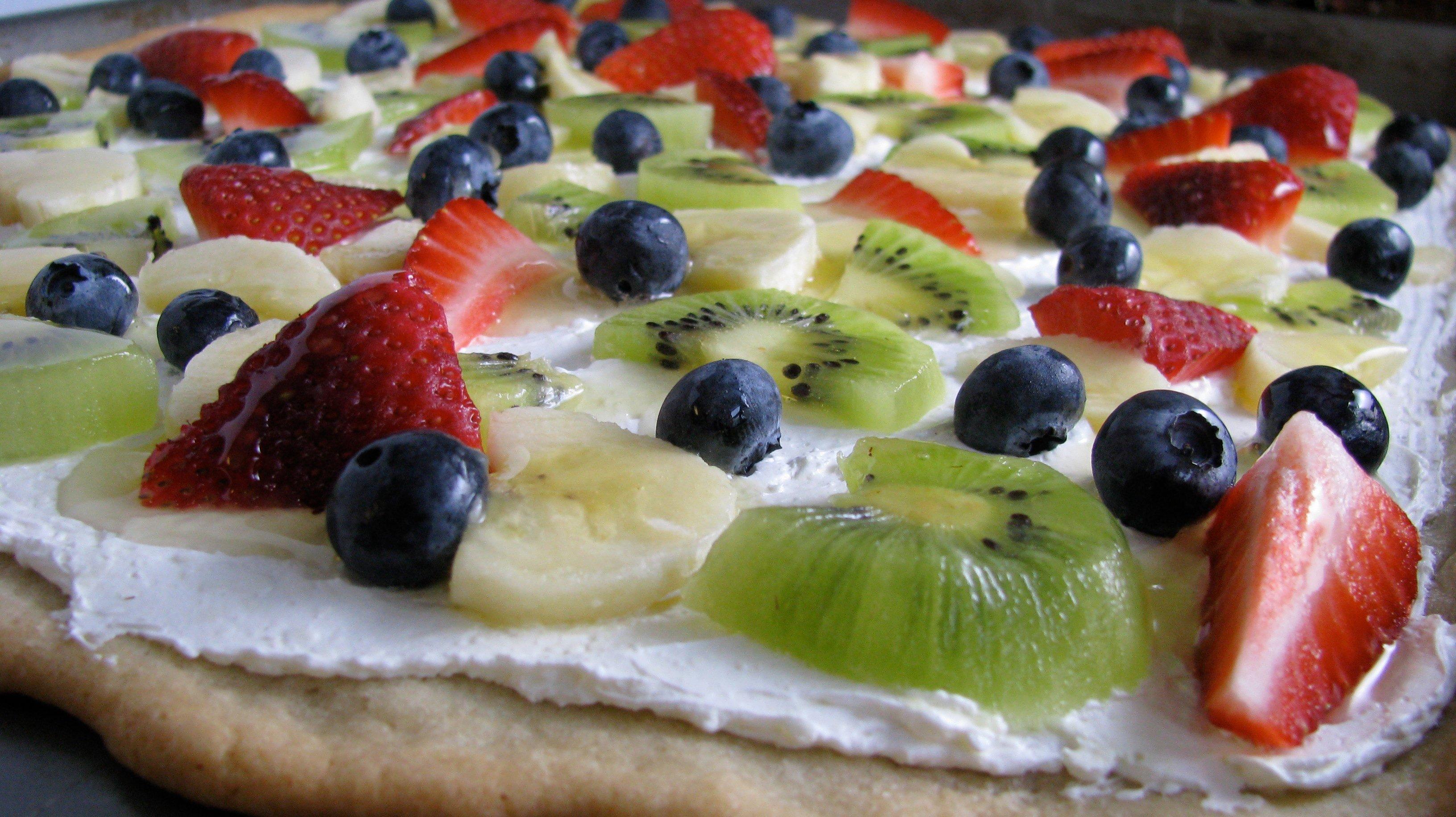healthy dip for fruit pillsbury fruit pizza