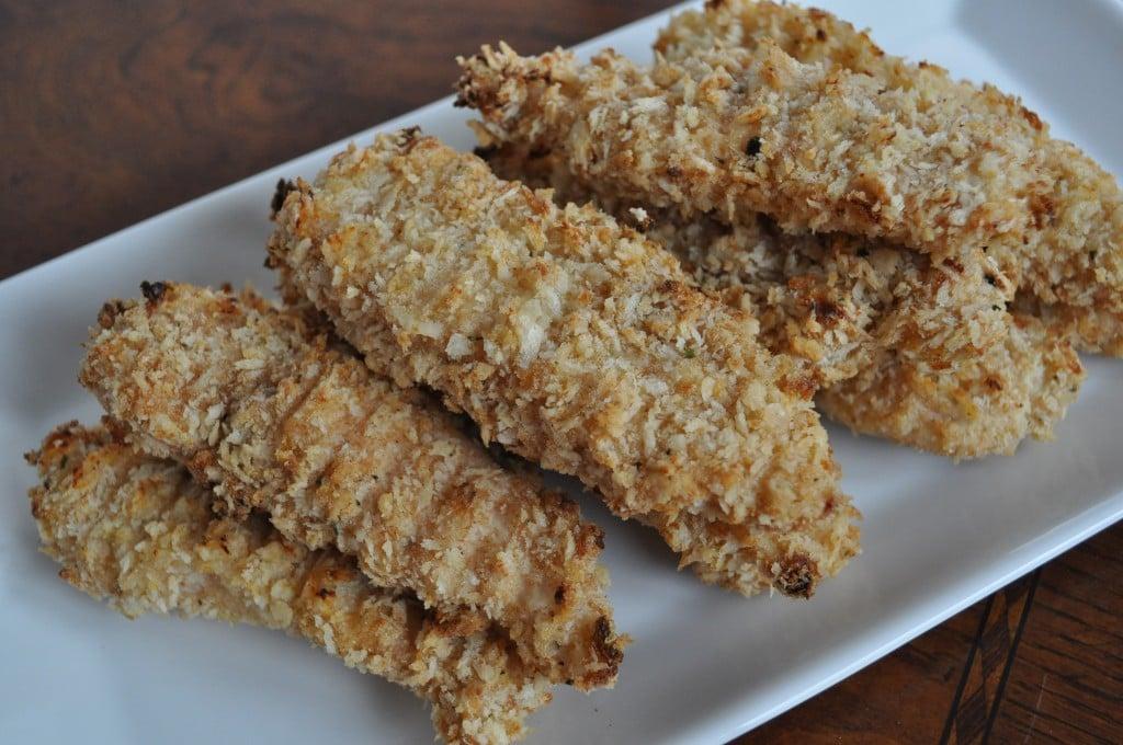 Parmesan Ranch Crispy Chicken Fingers. - How Sweet Eats