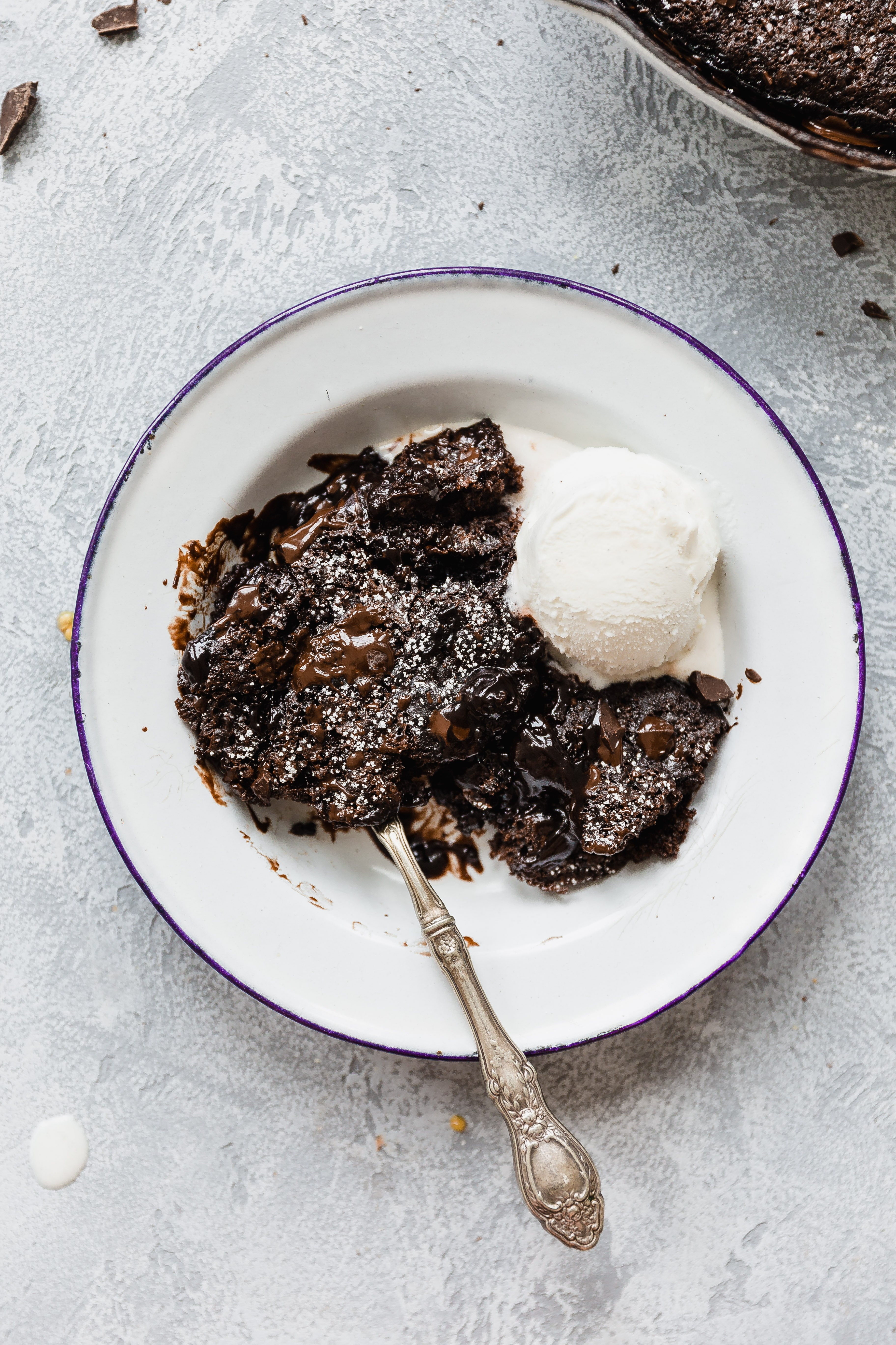 Chocolate Cobbler | How Sweet It Is