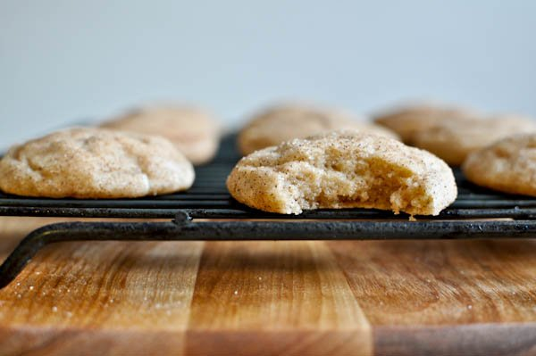 Fat Fluffy Snickerdoodles I howsweeteats.com