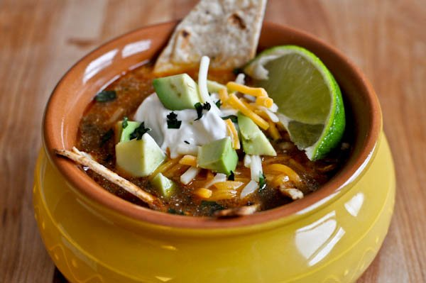 Easy One Pot Tortilla Soup I howsweeteats.com