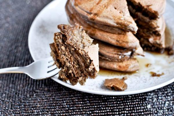 Chocolate French Silk Pancakes