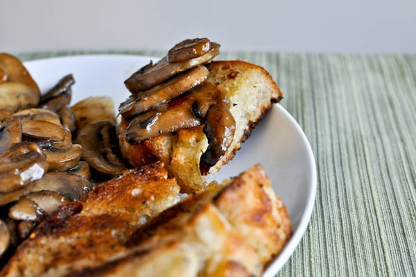 Caramelized Chicken with Mushrooms | How Sweet It Is