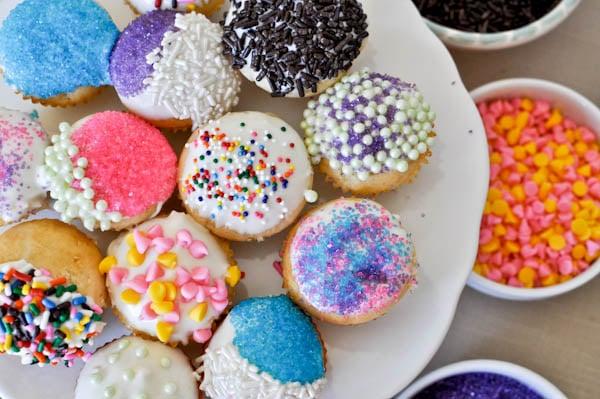 Cupcake Fondue I howsweeteats.com