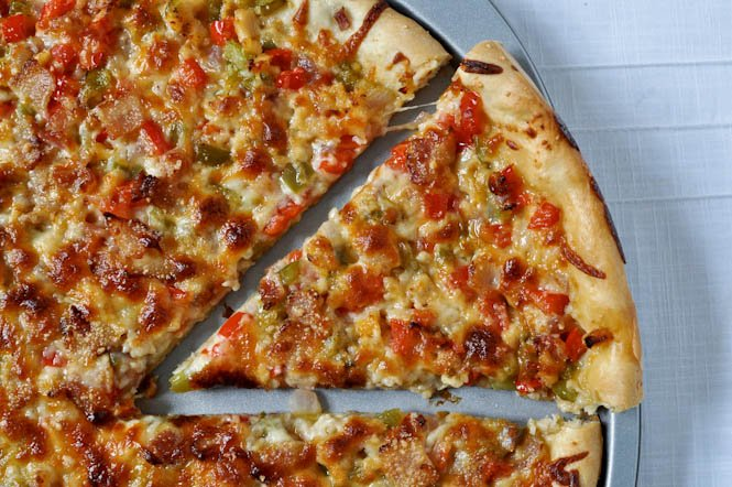 Clams Casino Pizza I howsweeteats.com