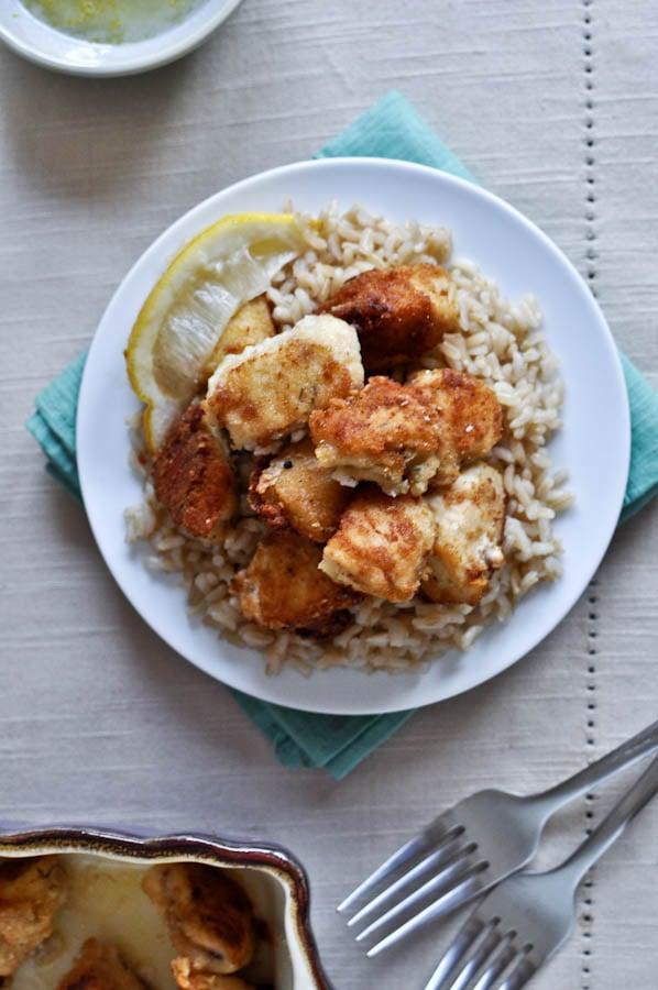 Crispy Honey Lemon Chicken | How Sweet It Is