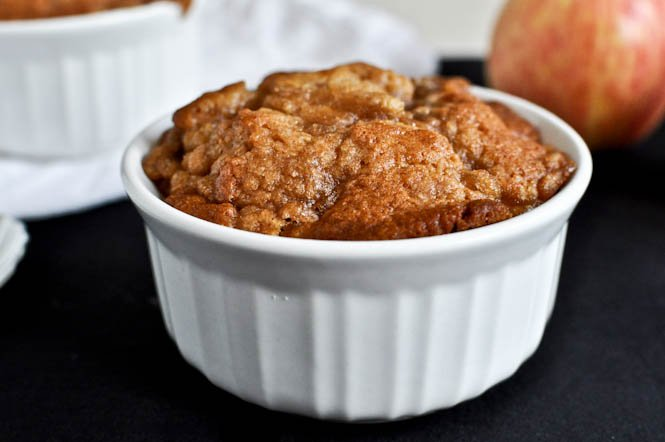 Apple Pie Breakfast Cakes I howsweeteats.com