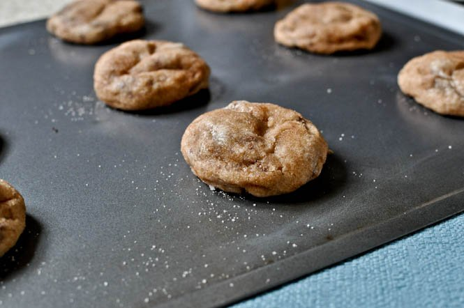 Snicker-Chip-Doodle Cookies I howsweeteats.com