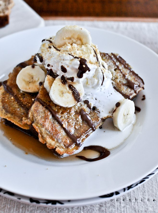 Banana Bread French Toast | How Sweet It Is