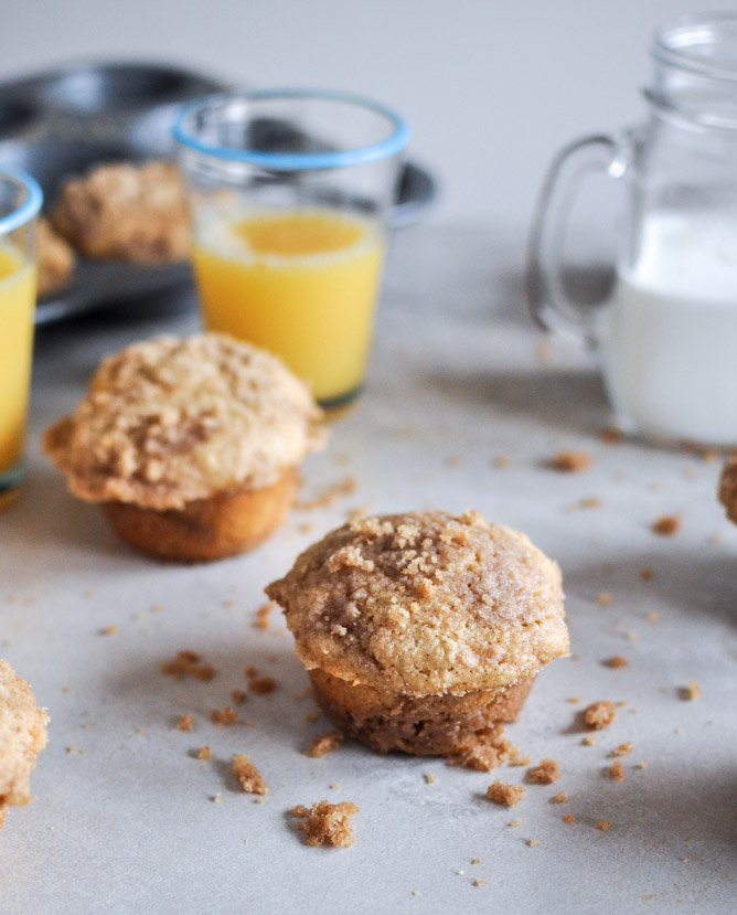 print recipe whole wheat coffee cake muffins yield makes 12 muffins ...