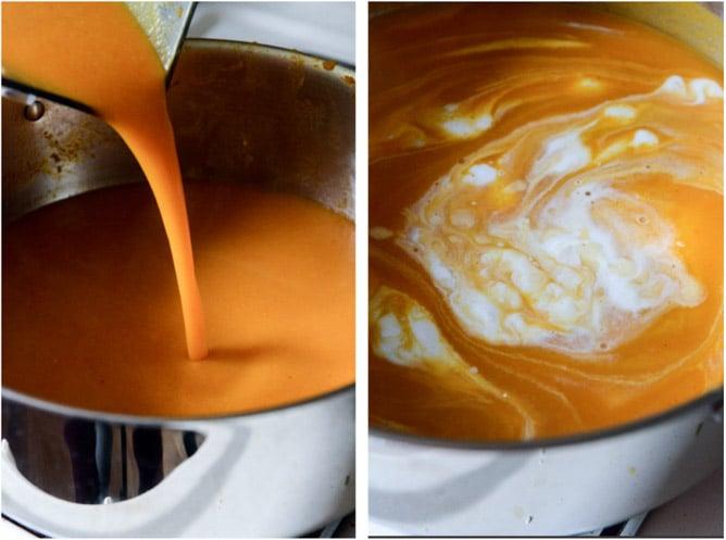 Thai Butternut Squash Soup I howsweeteats.com