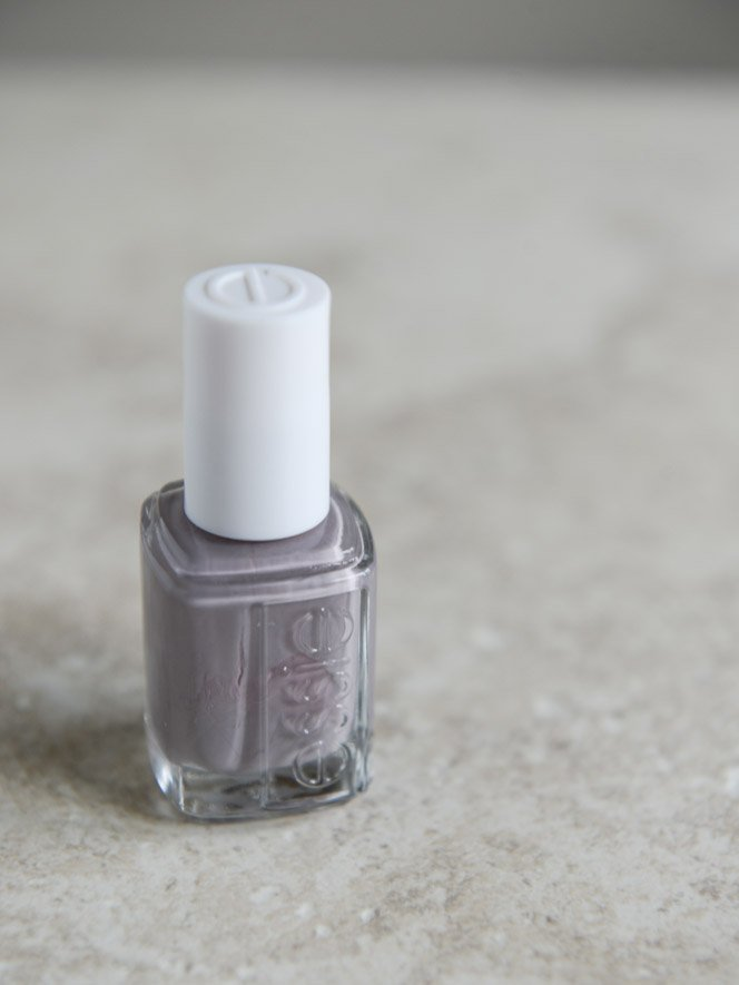 ESSIE chinchilly I howsweeteats.com