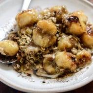 eggnog baked oatmeal I howsweeteats.com-5