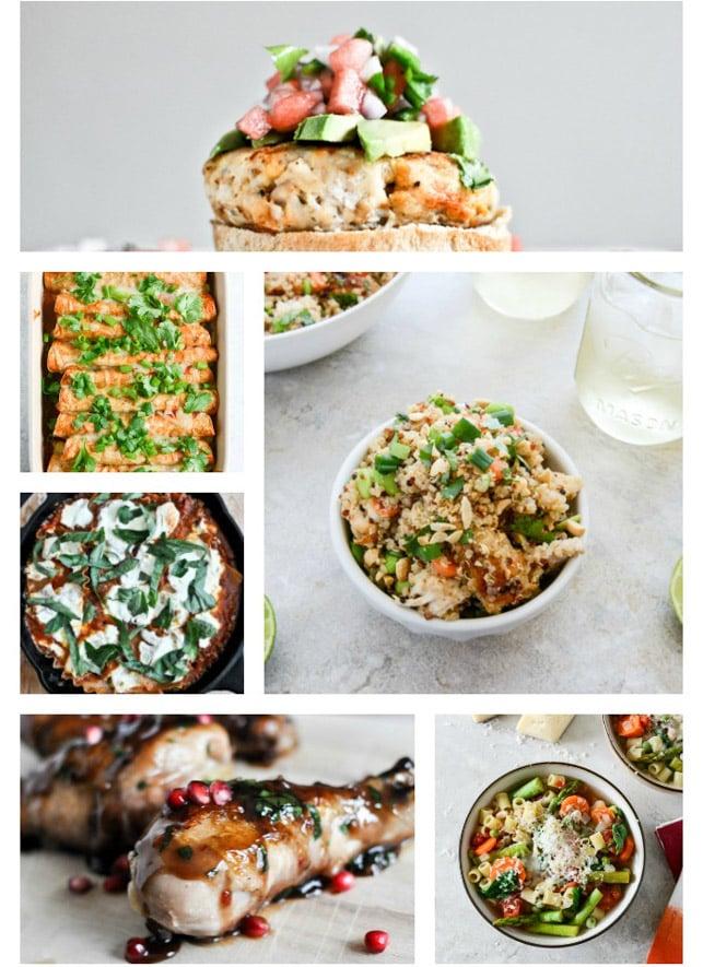 20 weeks of healthier meals I howsweeteats.com