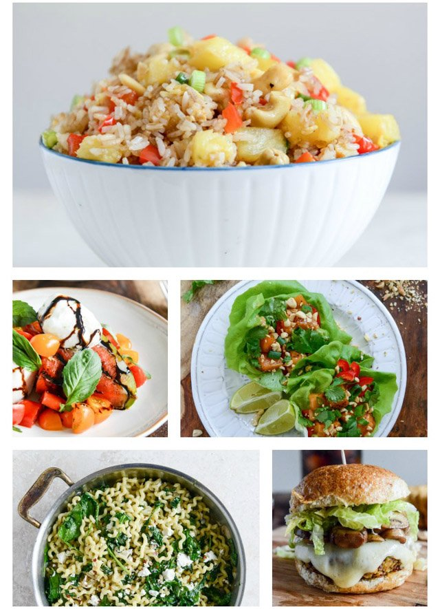 20 Weeks Of Different Healthier Dinner Ideas