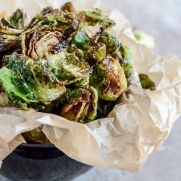 fried brussels sprouts I howsweeteats.com-2