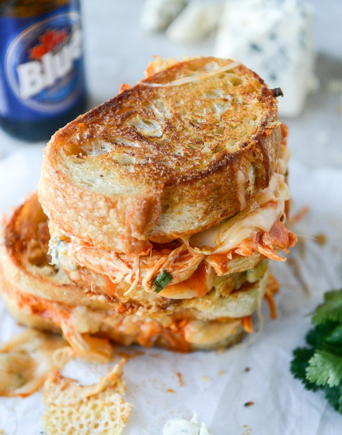 Buffalo Chicken Melt with Beer Cheese Sauce [OS] [668 x 851 ...