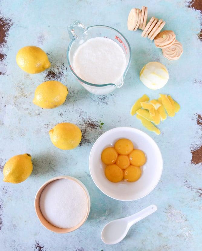 lemon cookie gelato I howsweeteats.com