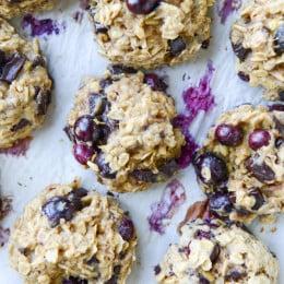 blueberry bfast cookies I howsweeteats.com-5
