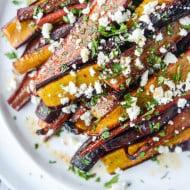 roasted carrots I howsweeteats.com-6