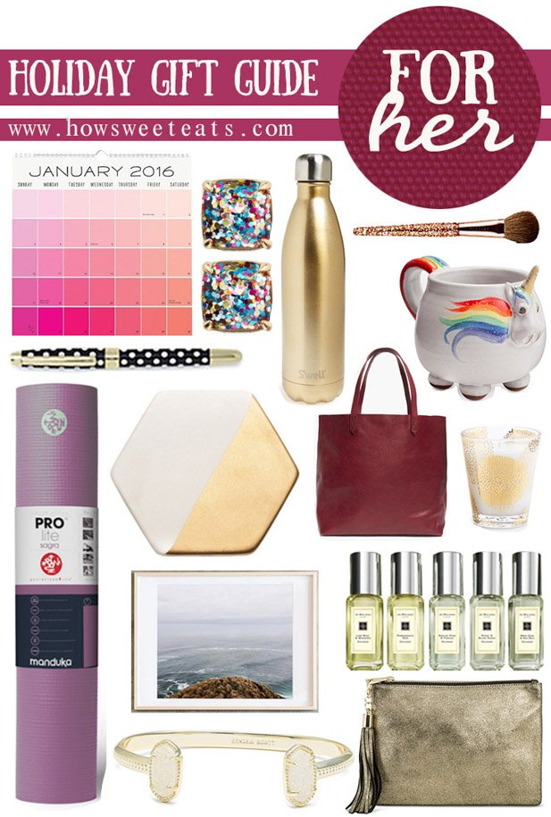 holiday gift guide for her I howsweeteats.com  sc 1 st  How Sweet Eats & Holiday Gift Guide: For Her. - How Sweet Eats