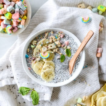 lucky charms chia pudding I howsweeteats.com-5