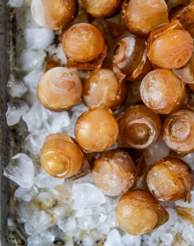 chocolate milk iced mochas I howsweeteats.com