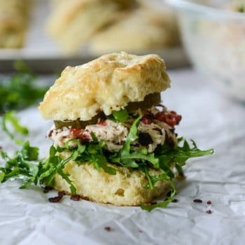 pimento chicken salad biscuits I howsweeteats.com-6