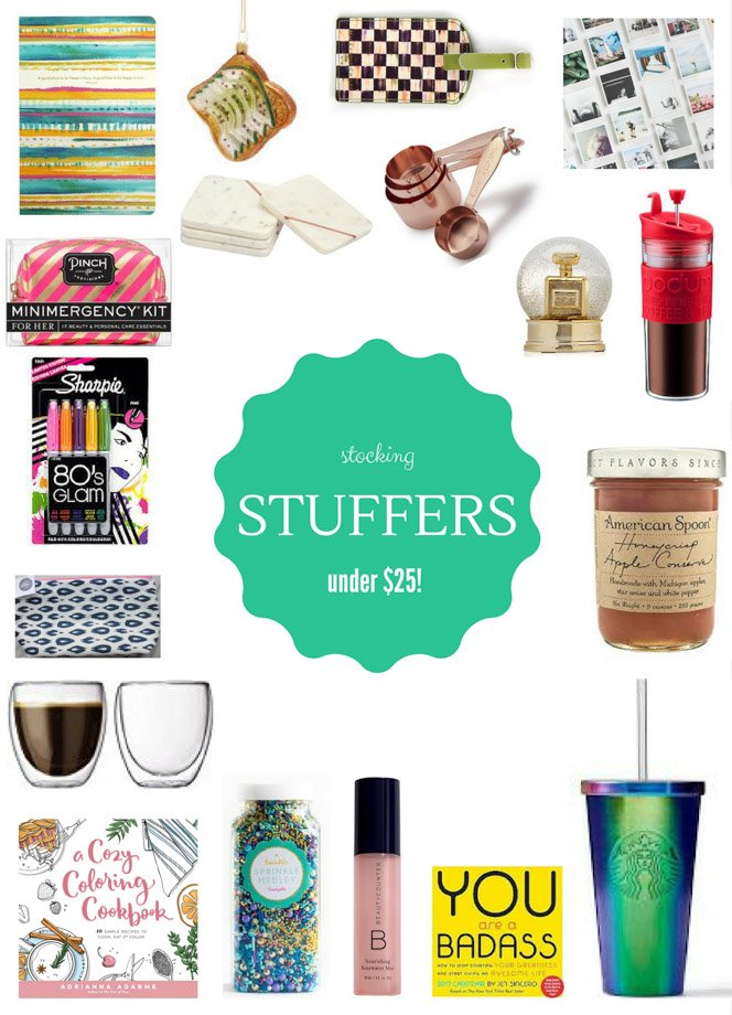 stocking stuffer holiday gift guide I howsweeteats.com