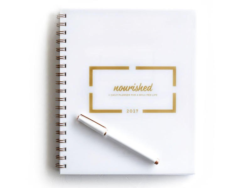 12 days of christmas I nourished planner giveaway I howsweeteats.com