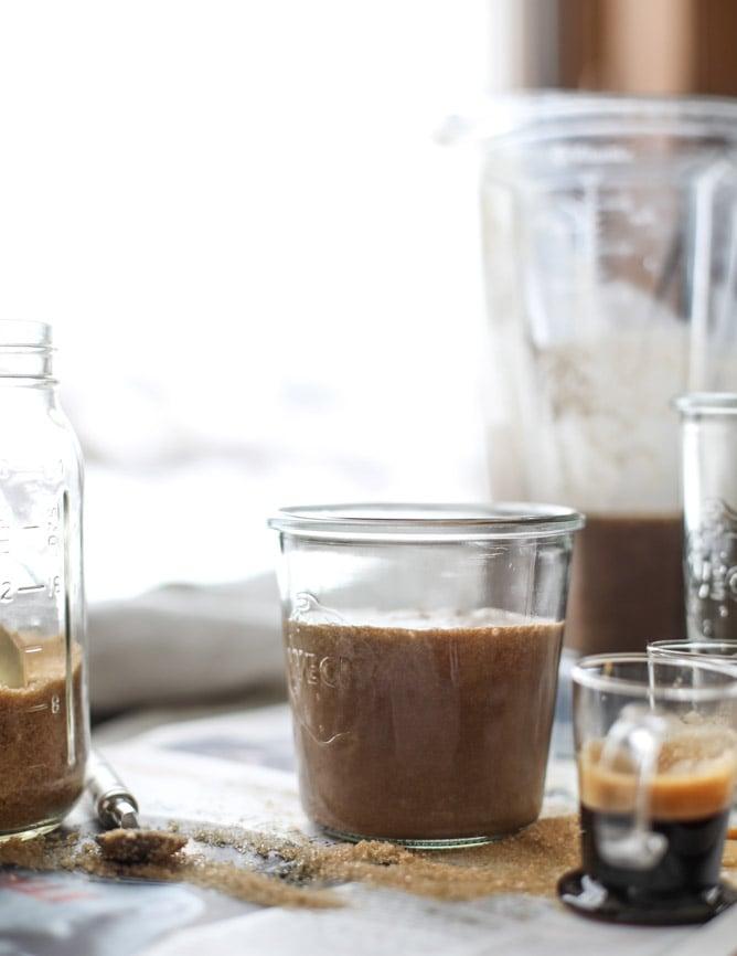 coffee coconut shakes I howsweeteats.com