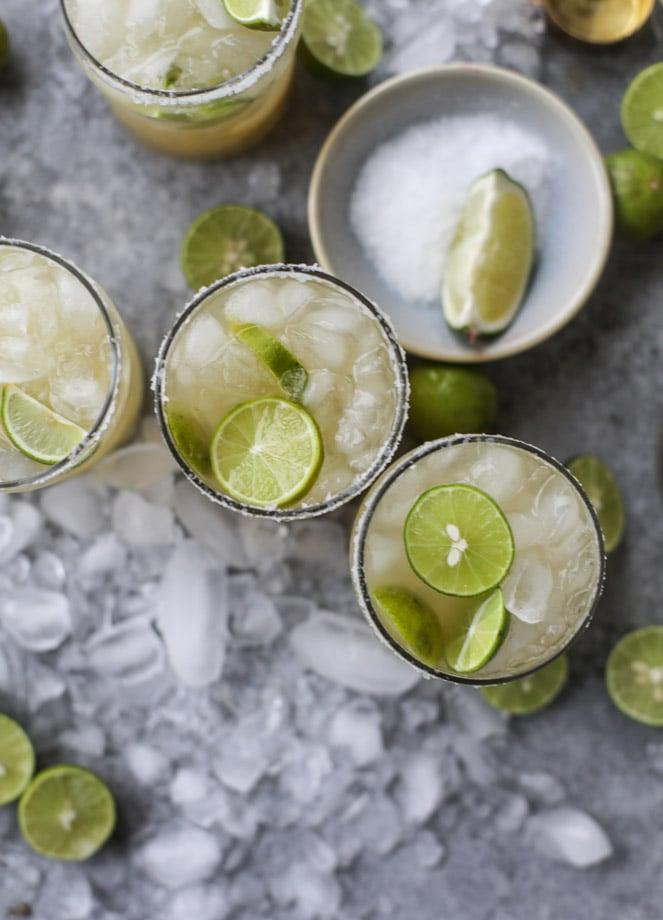 key lime beergaritas I howsweeteats.com