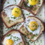 baked eggs and toast I howsweeteats.com-4
