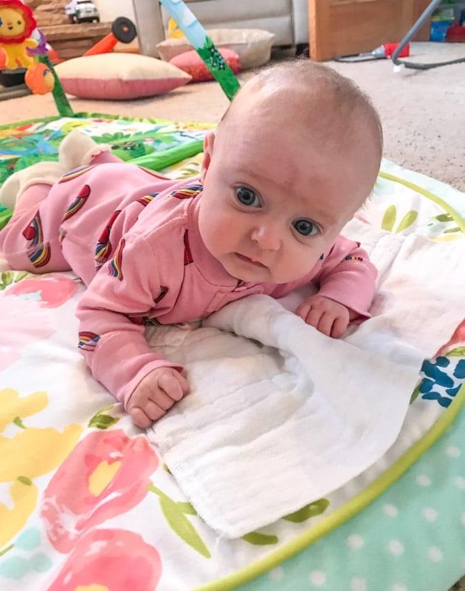 emilia at 12 weeks I howsweeteats.com
