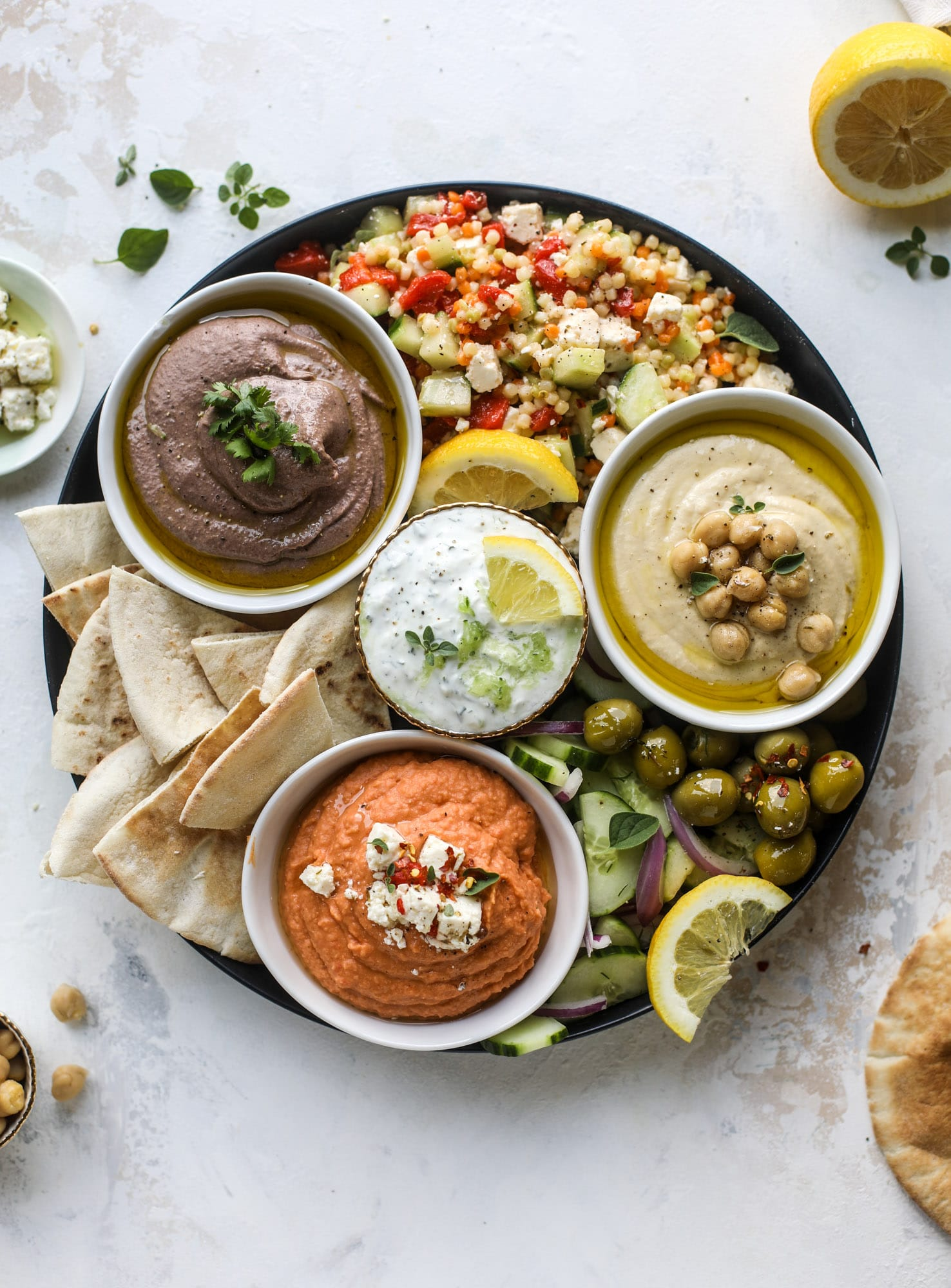 Here You Can Find Out How To Make The Perfect Hummus Platter This Trio Includes