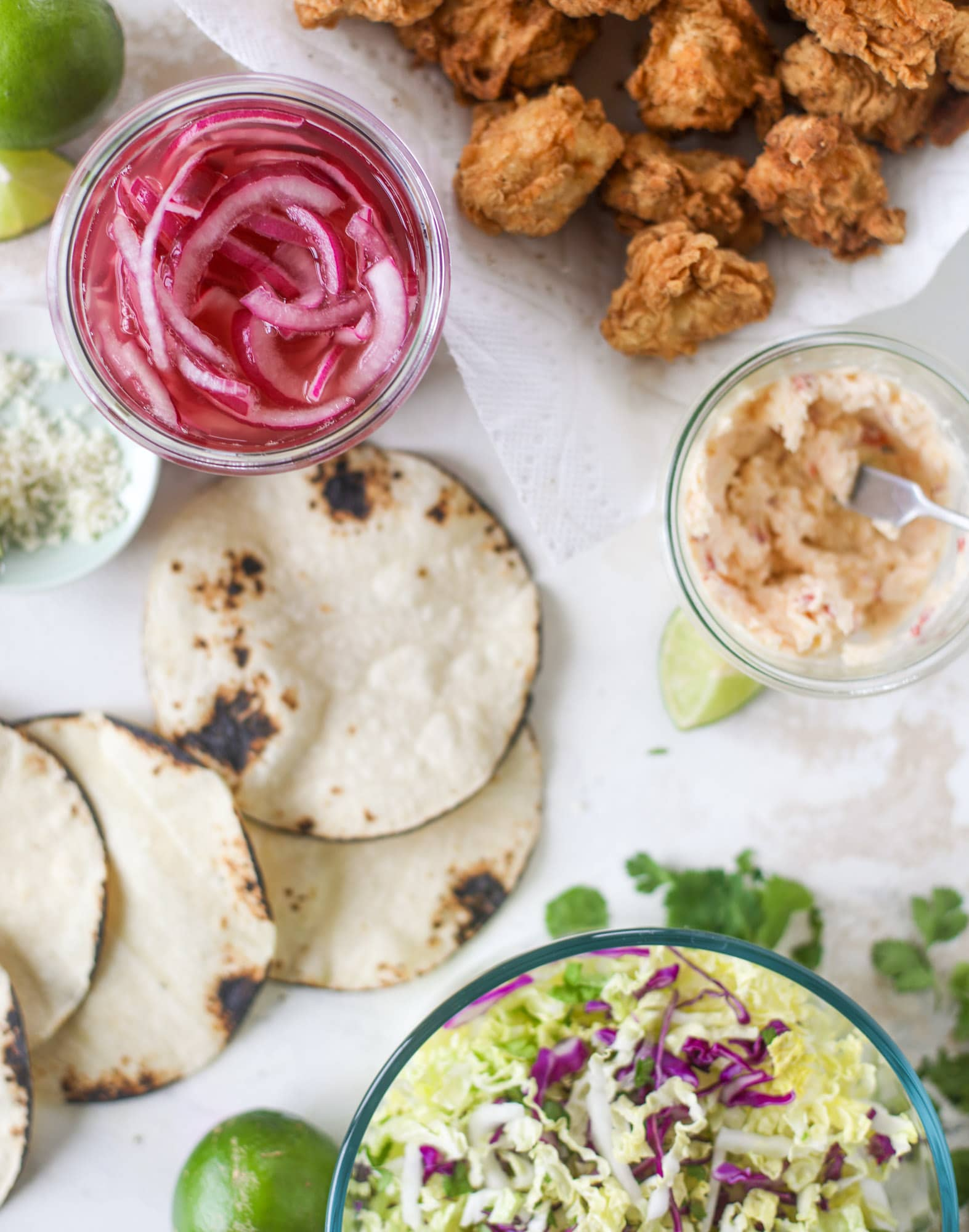 crispy chicken taco ingredients
