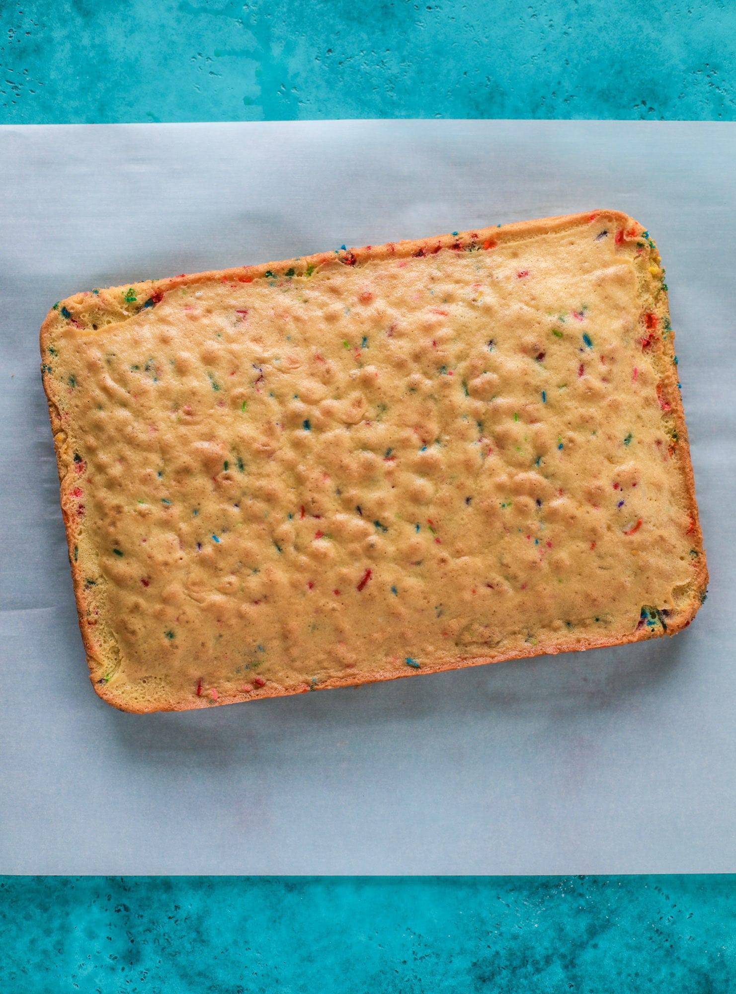 funfetti sponge cake