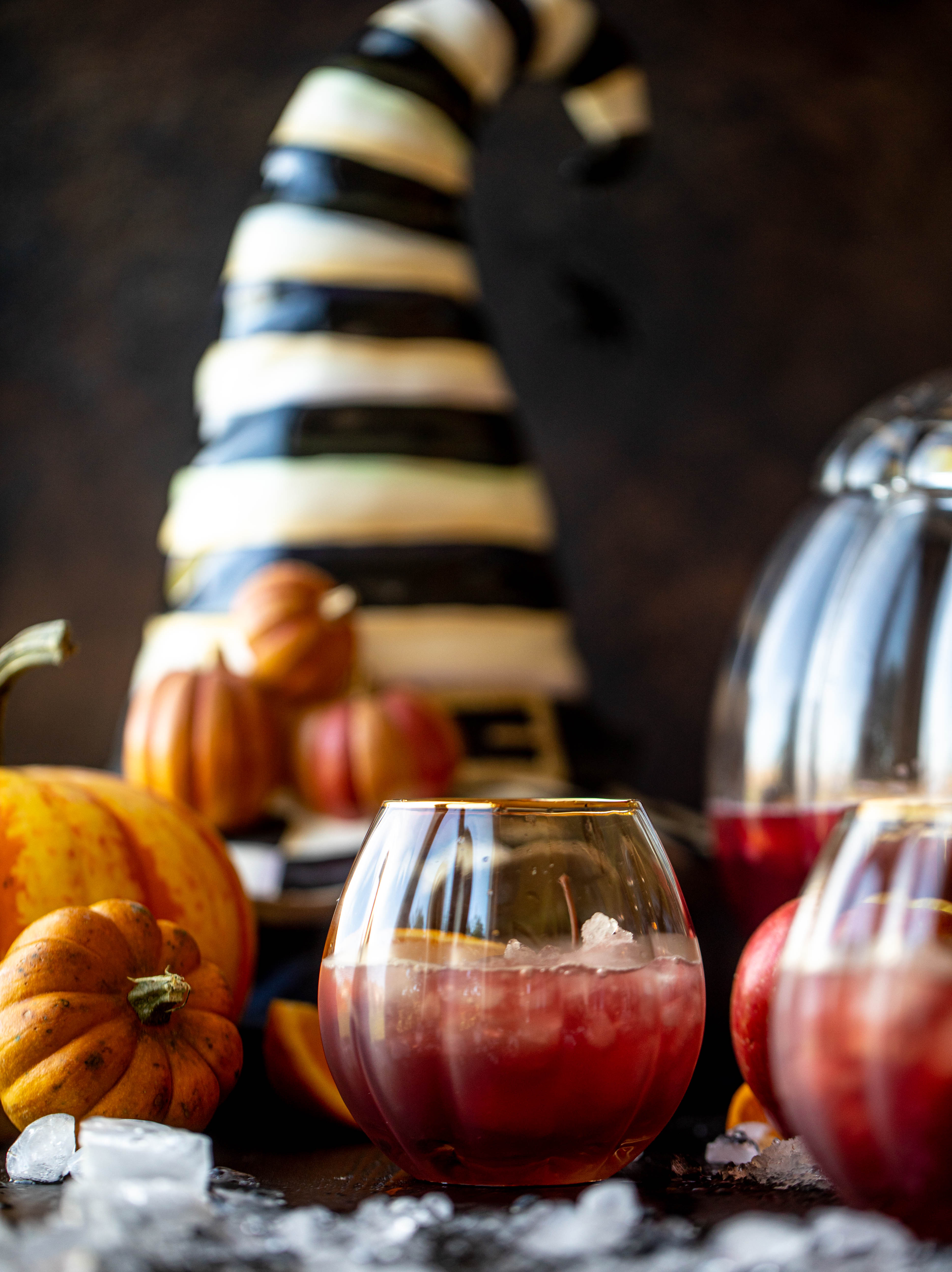 A fun Halloween punch that everyone can enjoy! Hocus pocus punch is full of cider, orange and cranberry and tastes delicious!