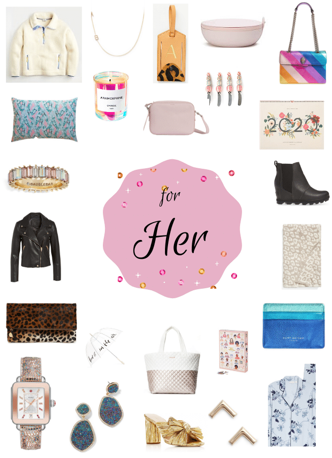 2019 Gift Guide: For Her! All of My Favorite Things.