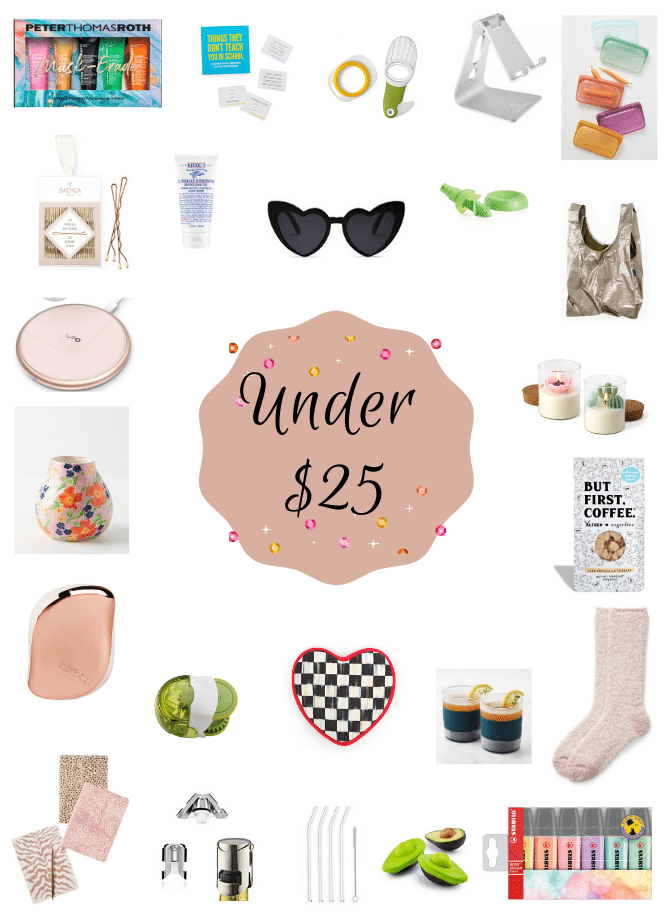 holiday gift guide - under $25 stocking stuffers