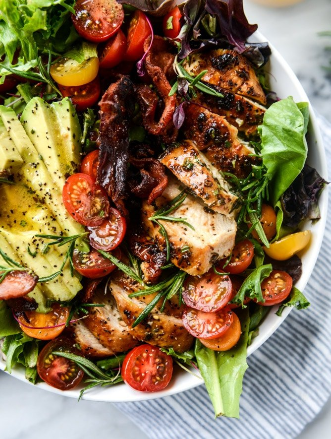 bacon chicken rosemary salad + 175 of my favorite weeknight meals