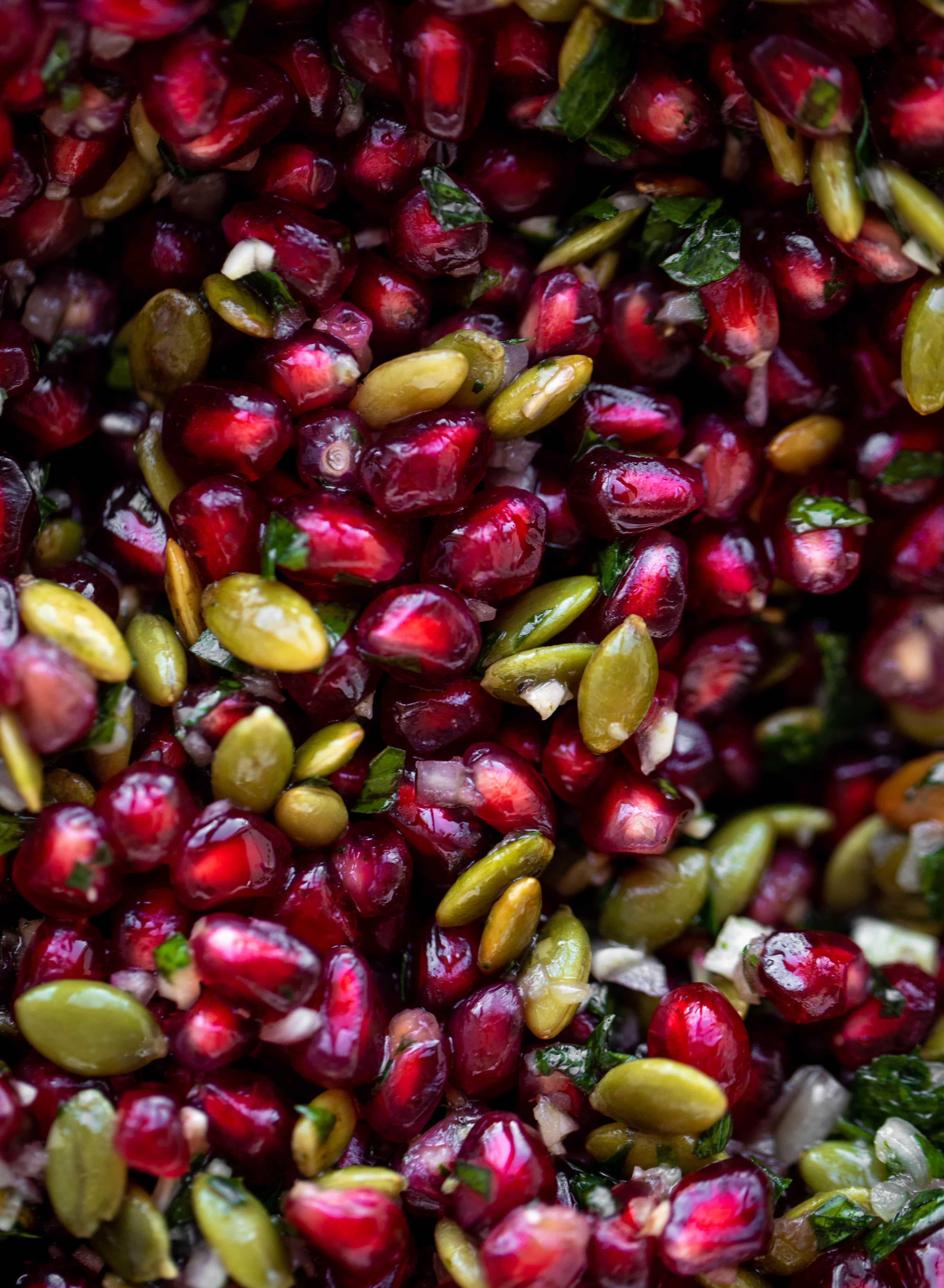 pomegranate pepita relish