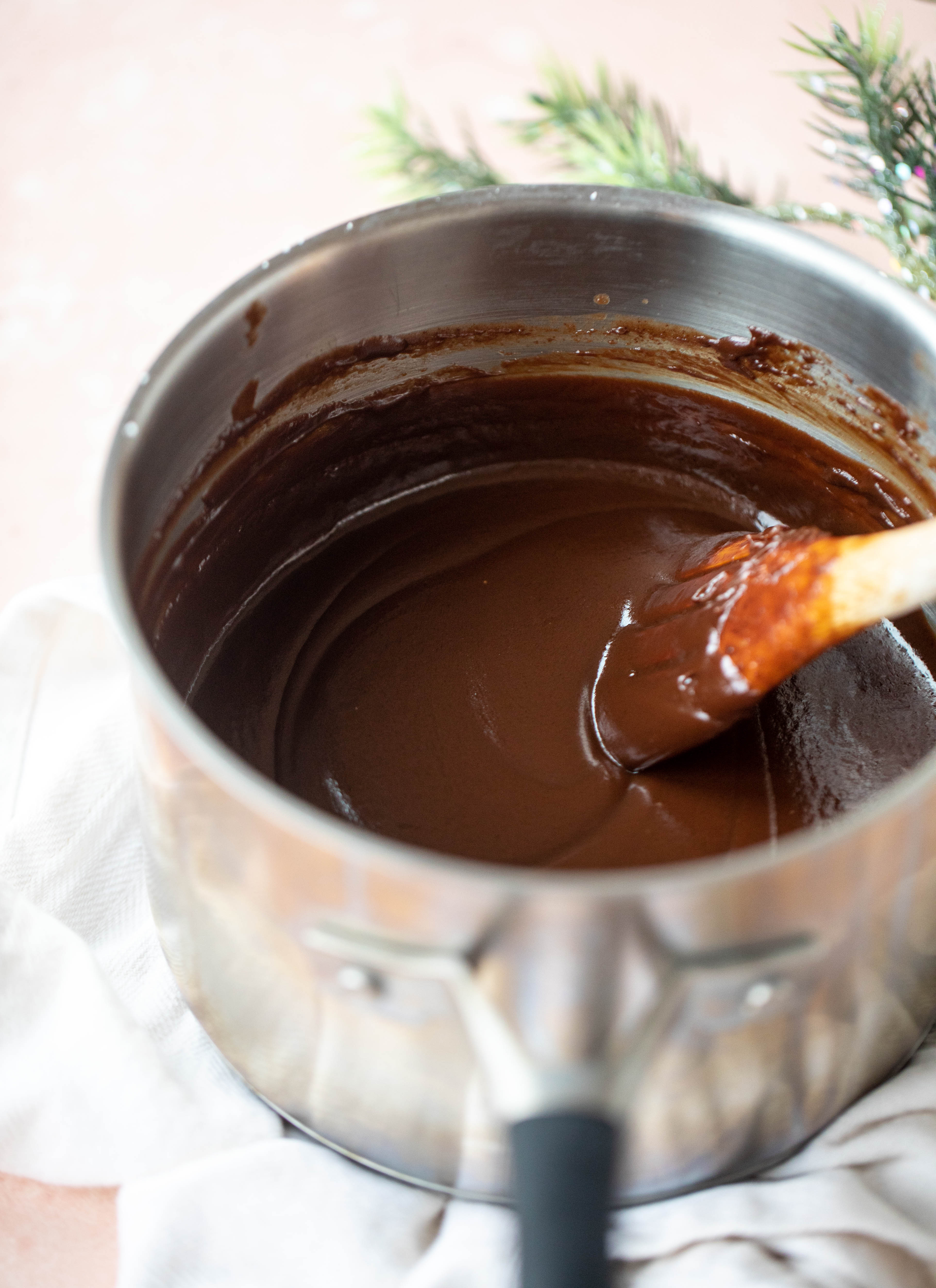 homemade hot fudge