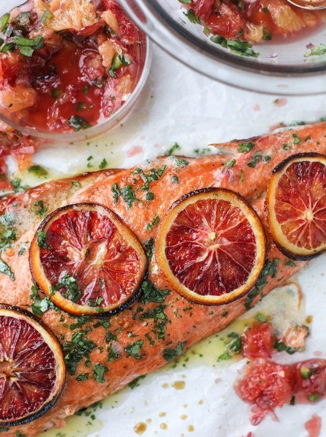 blood orange salmon + 175 of my favorite weeknight meals