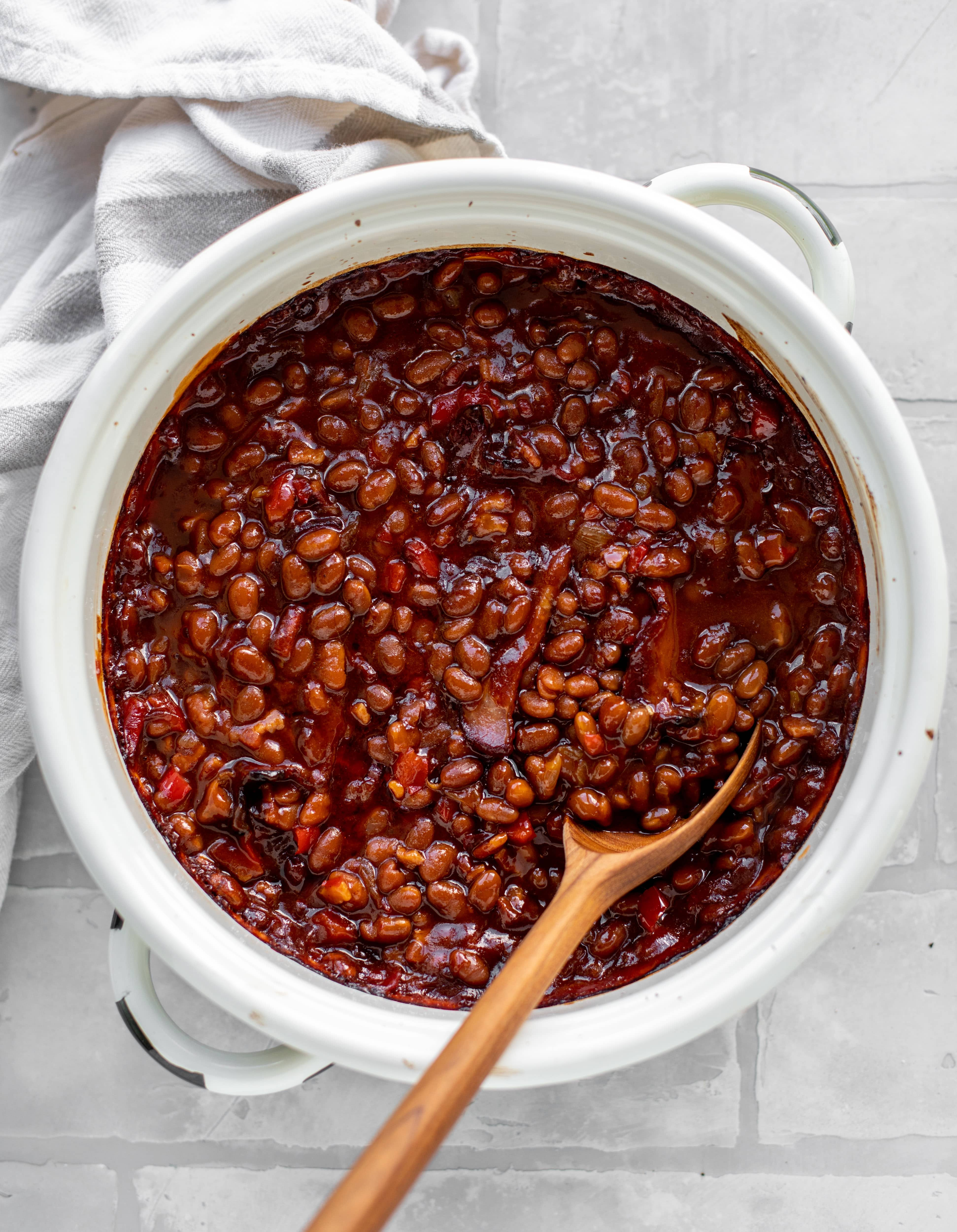 Saucy, Smoky Baked Beans