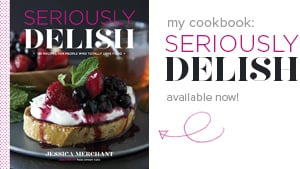 My Cookbook: Seriously Delish, in stores September 2nd